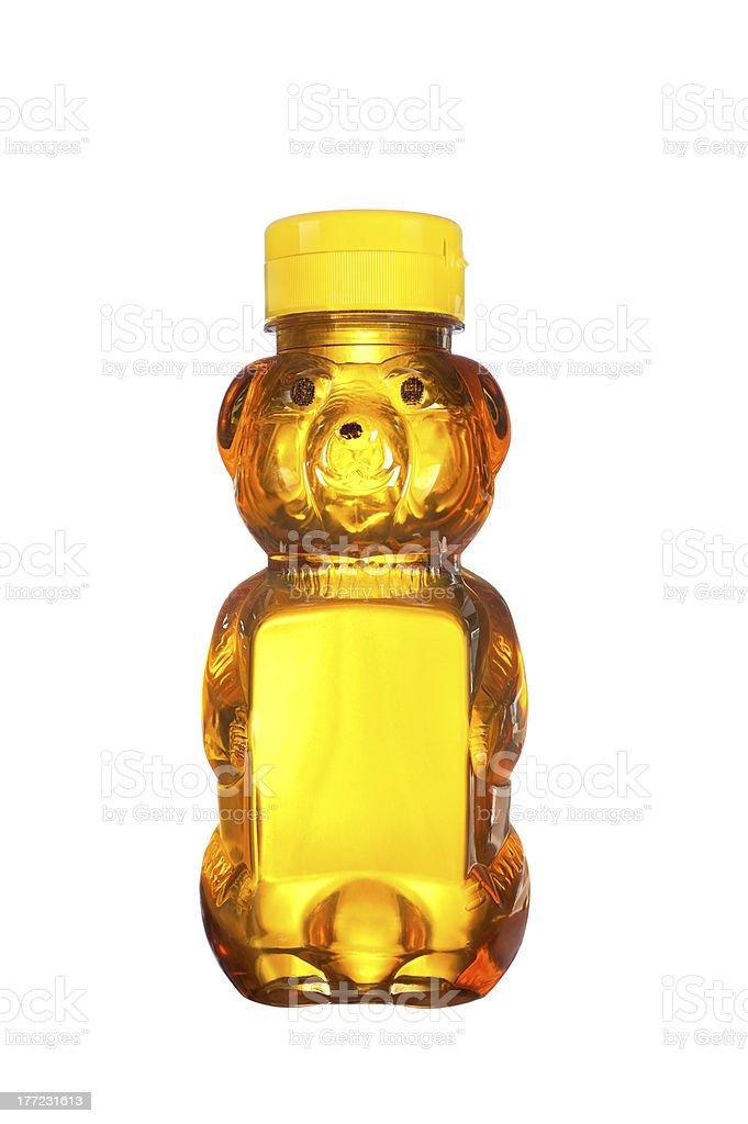 Bottle of honey foto