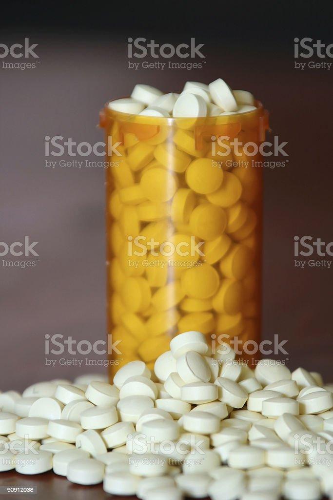 Bottle of Medicine royalty-free stock photo