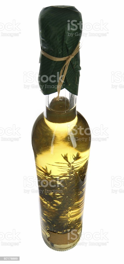 Bottle of Olive Oil royalty-free stock photo