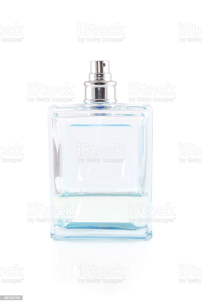 bottle of perfume royalty-free stock photo