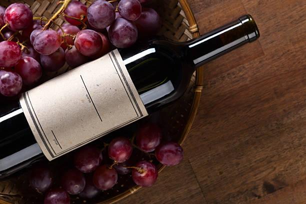 ワインのボトル ストックフォト