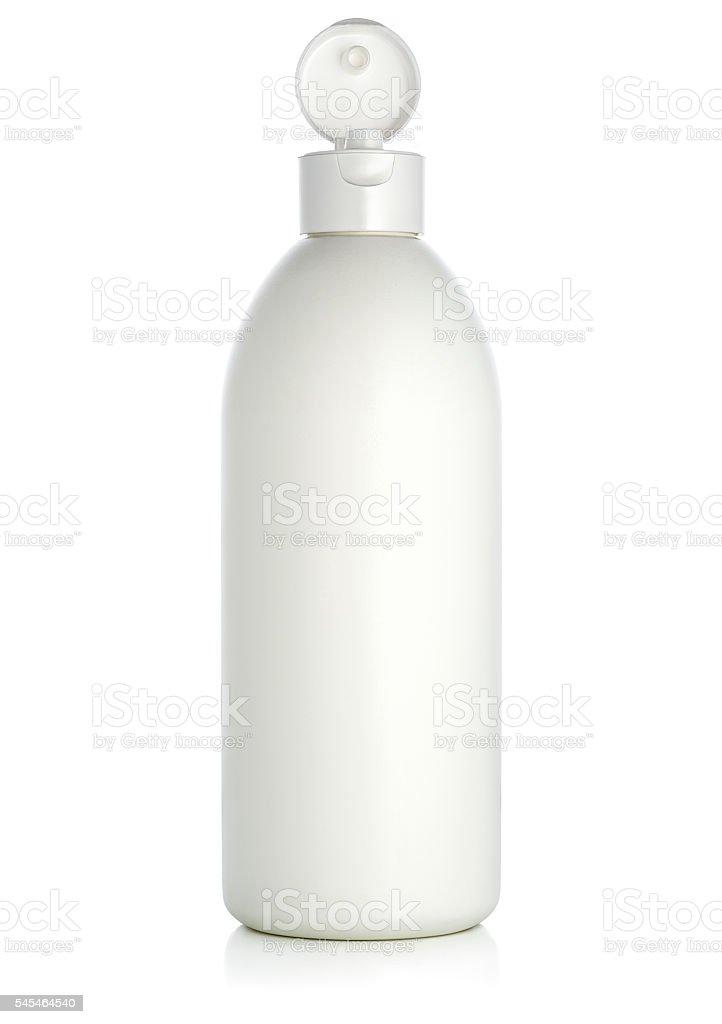 Bottle of shampoo/beauty product stock photo