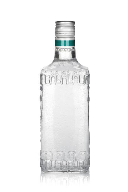 garrafa de tequila de prata - garrafa - fotografias e filmes do acervo