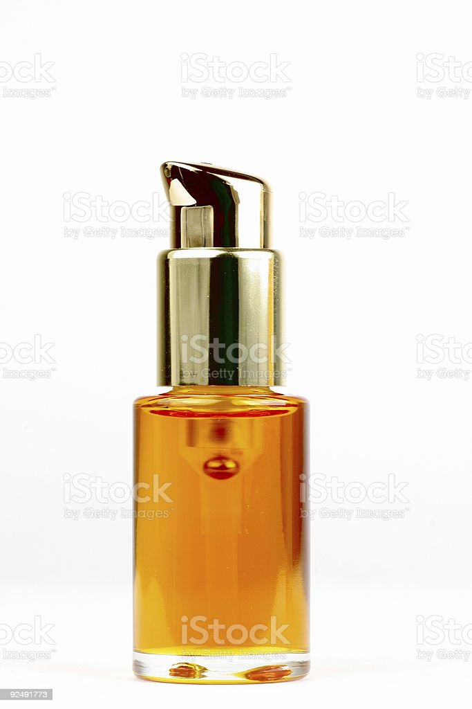 Bottle of skin clean product royalty-free stock photo