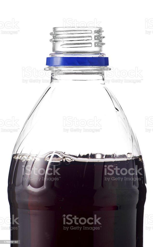 Bottle of soda stock photo