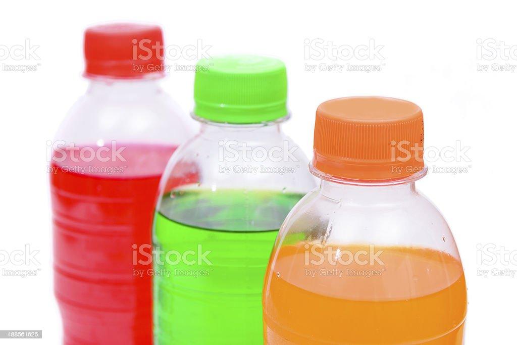 Bottle of sweet soda stock photo