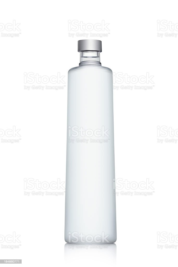 Bottle of Water isolated on white stock photo