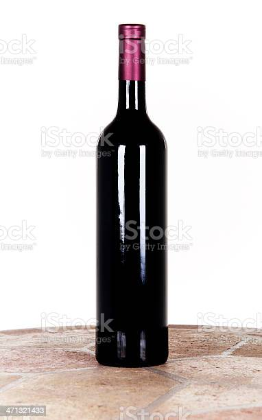 Bottle Of Wine Stock Photo - Download Image Now