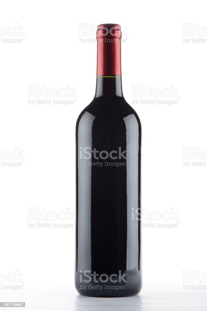 Botella de vino - foto de stock