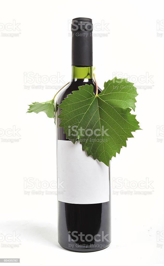 Eine Flasche Wein Lizenzfreies stock-foto
