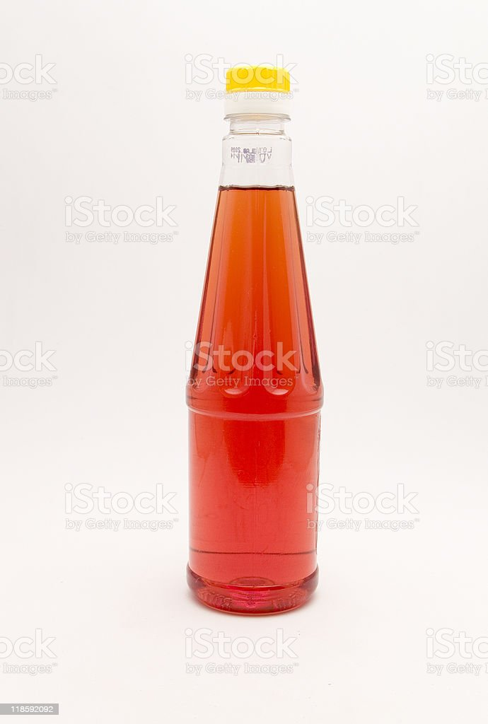 bottle of wine vinegar royalty-free stock photo