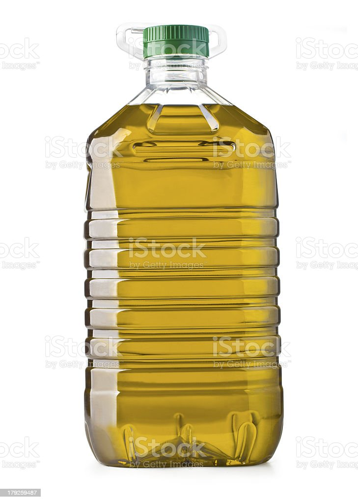 bottle oil royalty-free stock photo