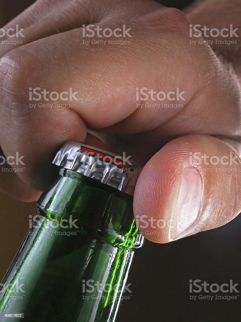 Flasche Eröffnung – Foto
