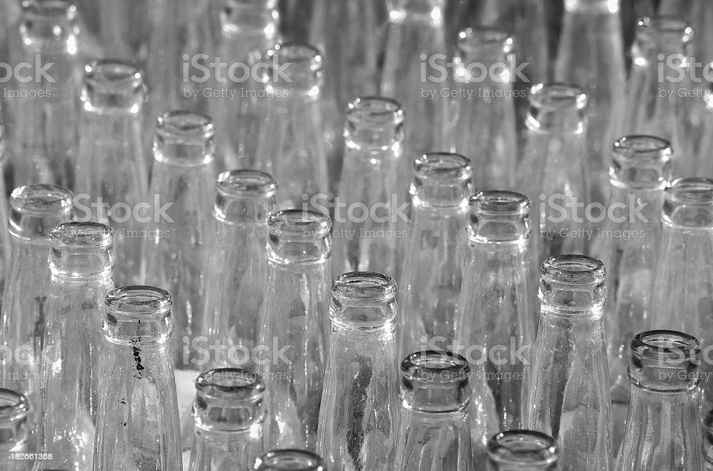 Bottle Parade stock photo