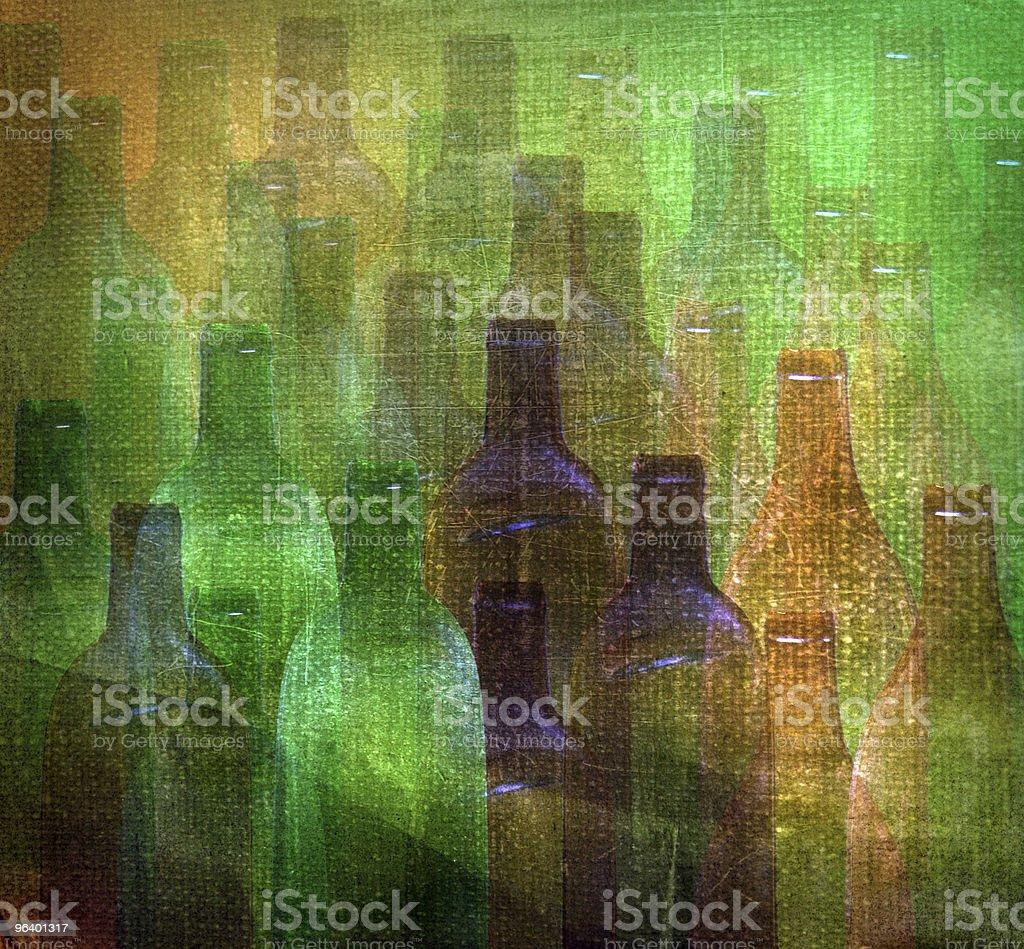絵画輝く光のパターン(ボトル) - まぶしいのロイヤリティフリーストックフォト