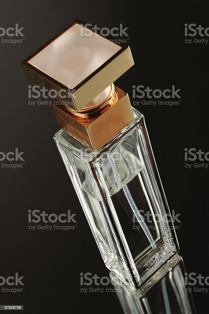 bottle perfume royalty-free stock photo