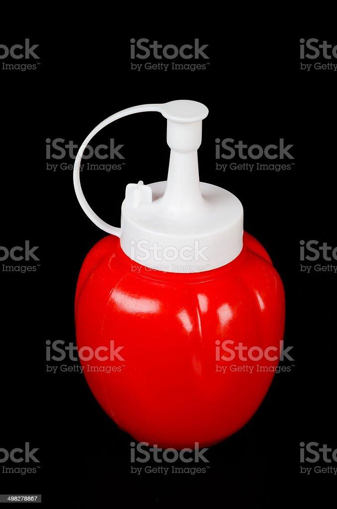 Bottle sauce royalty-free stock photo