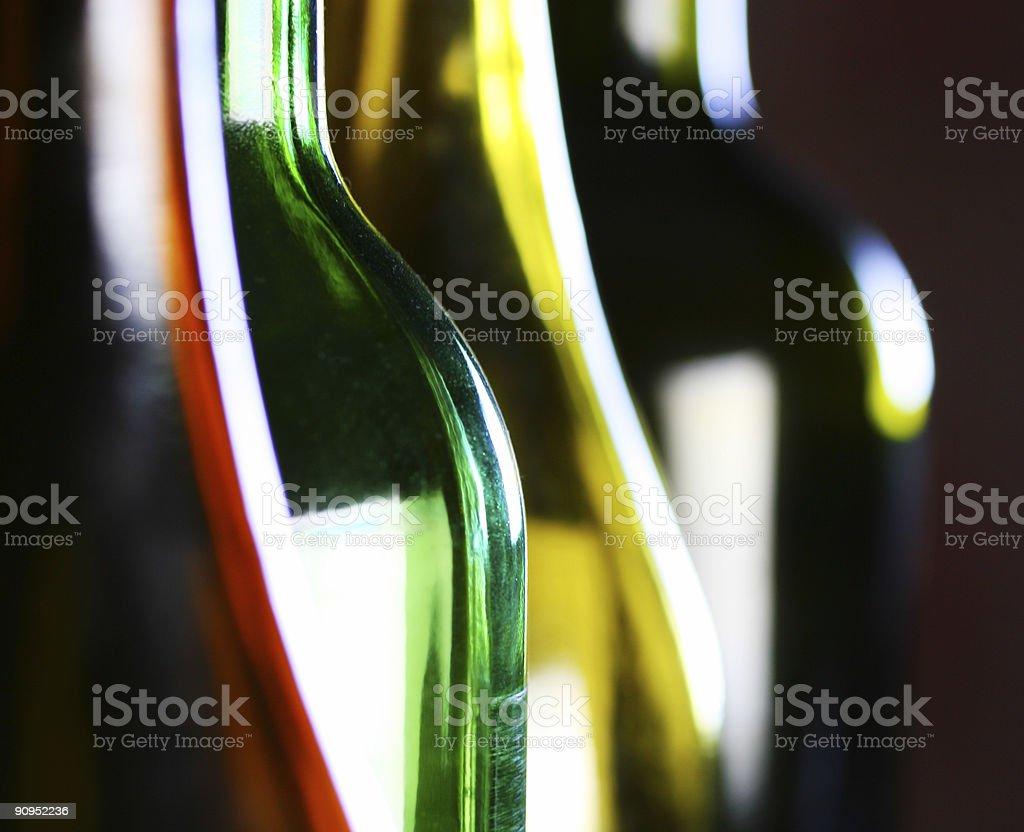 bottle shapes royalty-free stock photo