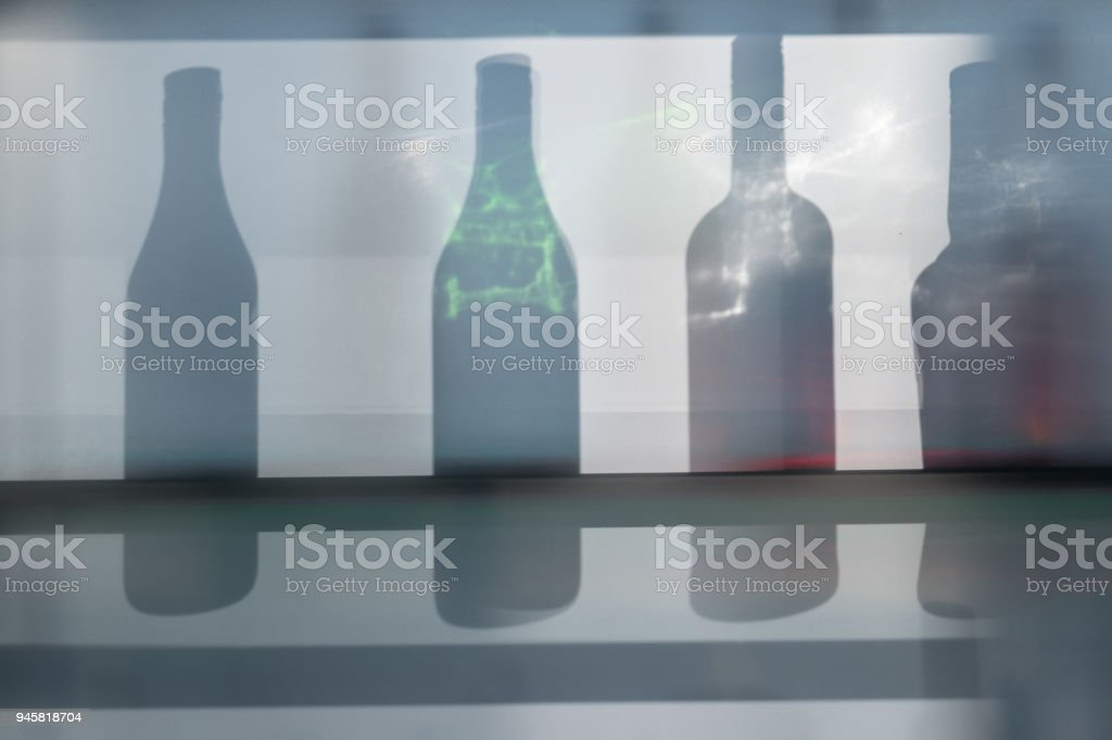 Bottle silhouette
