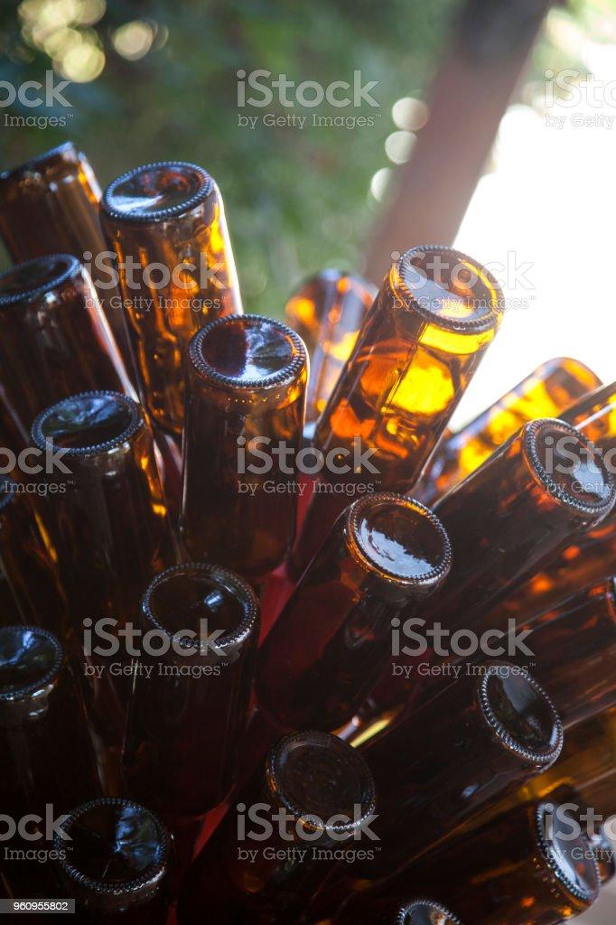 Flasche tree - Lizenzfrei Alkoholisches Getränk Stock-Foto