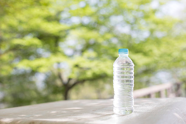 PET bottle water stock photo