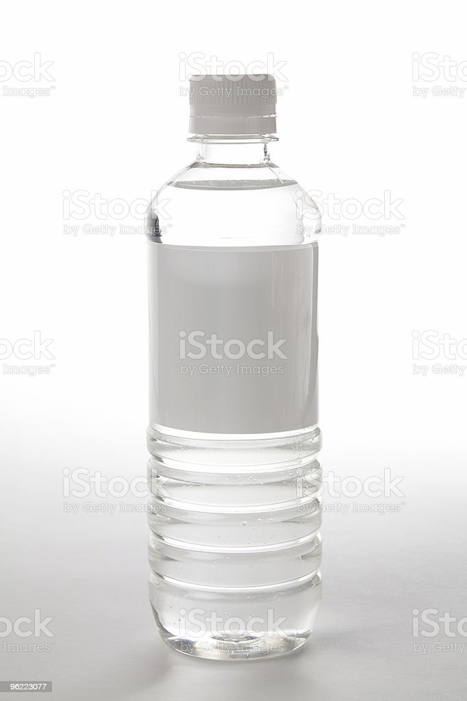 bottle water royalty-free stock photo
