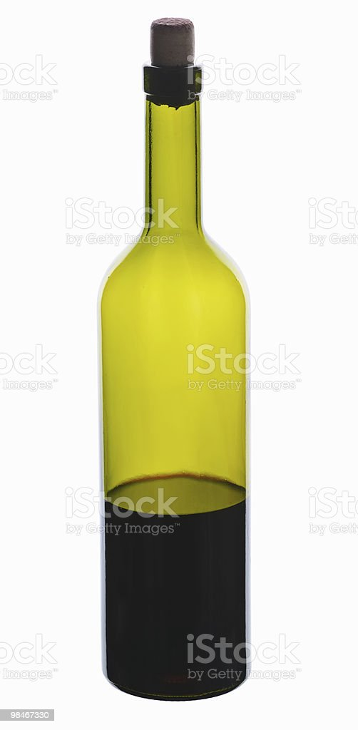 bottle wine royalty-free stock photo