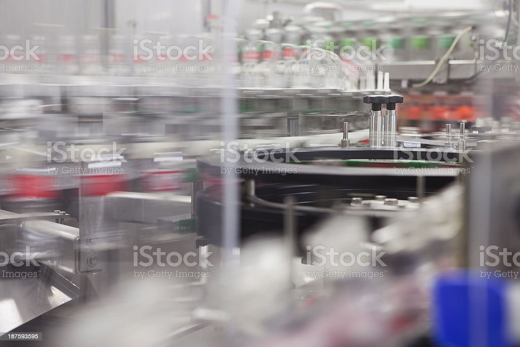 Bottled Industry stock photo