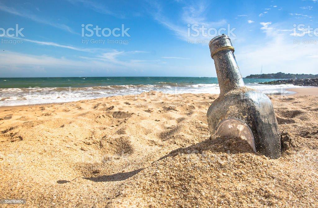 Bottled stock photo