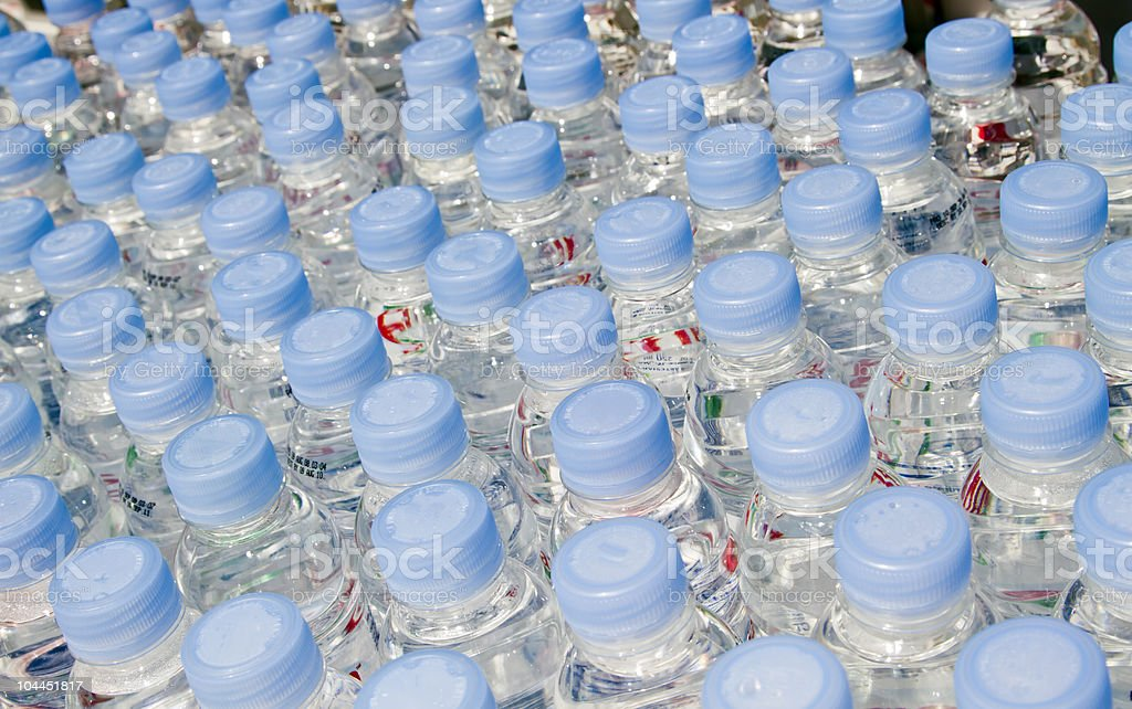 Bottled water - Royalty-free Abstract Stock Photo