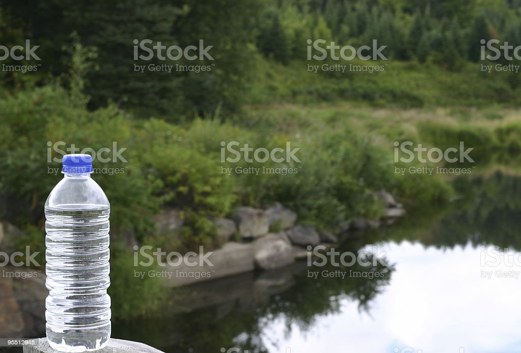 Bottled Water royalty-free stock photo