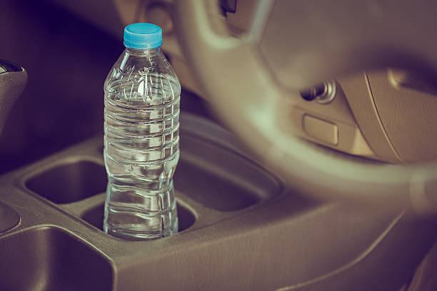Bottled water was left in car for a long time – Foto