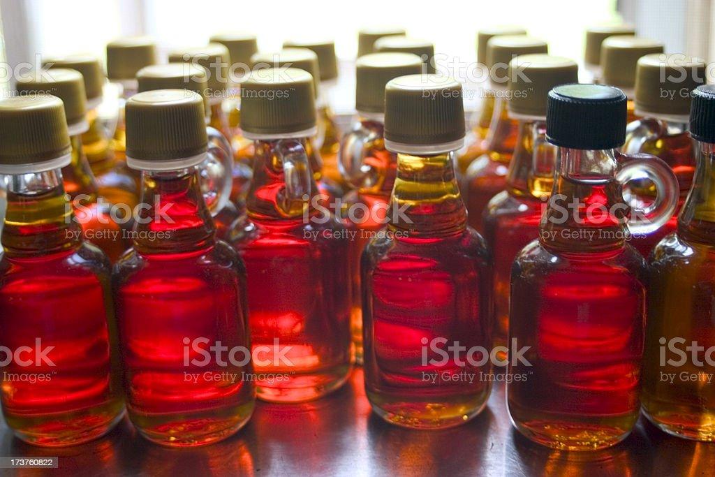 Bottles o' sauce royalty-free stock photo