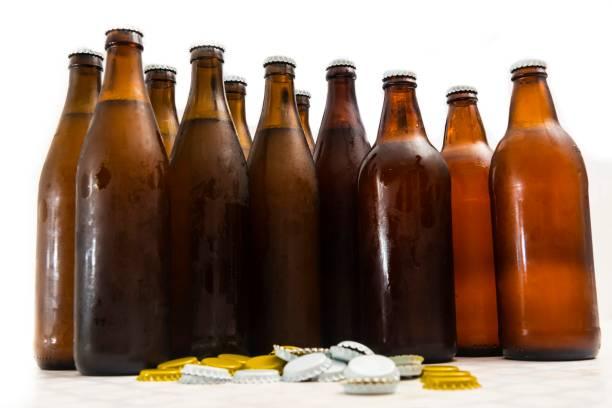 Handwerklichen Bierflaschen – Foto