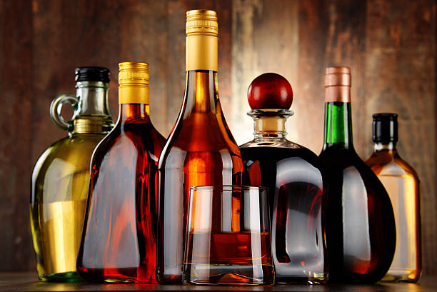 liquor bottles wallpaper - photo #13