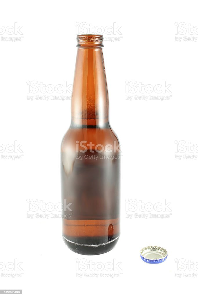 Bottles of beer - Royalty-free Alcohol Abuse Stock Photo