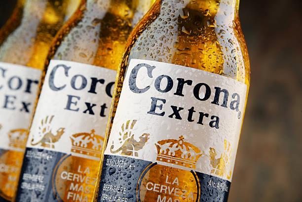 Flaschen Corona zusätzliche Bier – Foto
