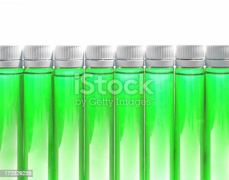 Bottles of Fitness Nutrition or Medicine