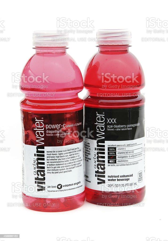 Glaceau Vitamindrinks Wasser In Flaschen Stock-Fotografie und mehr ...