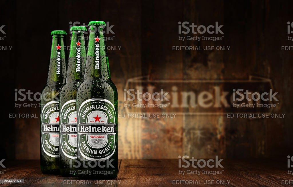 Flaschen Heineken Bier – Foto