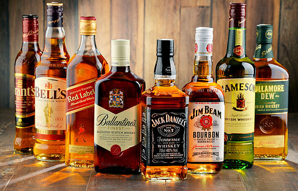Royalty free whiskey bottle pictures images and stock for Most popular whiskey drinks