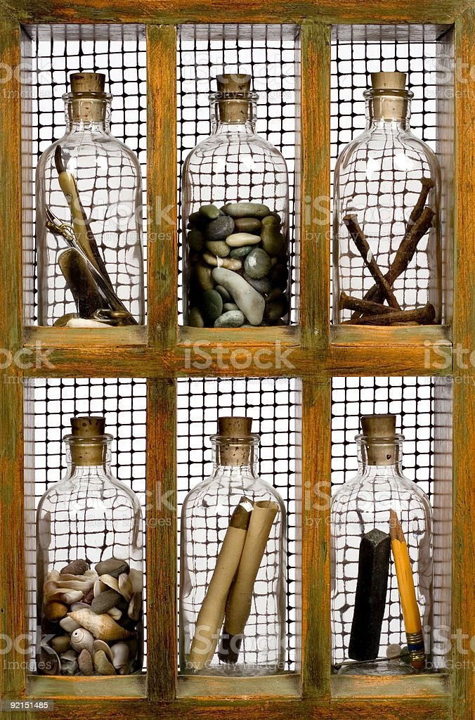 bottles royalty-free stock photo