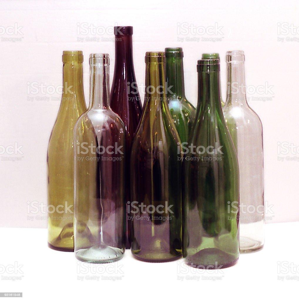 Bottles Still Life royalty-free stock photo