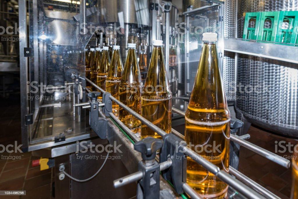 bottling of drinks - bottling plant