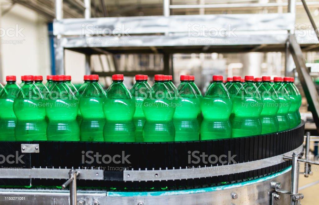 Bottling plant - Water bottling line for processing and bottling...