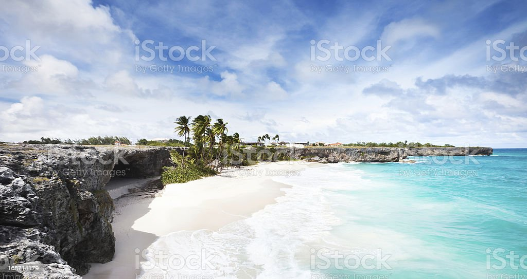 Bottom Bay, Barbados stock photo