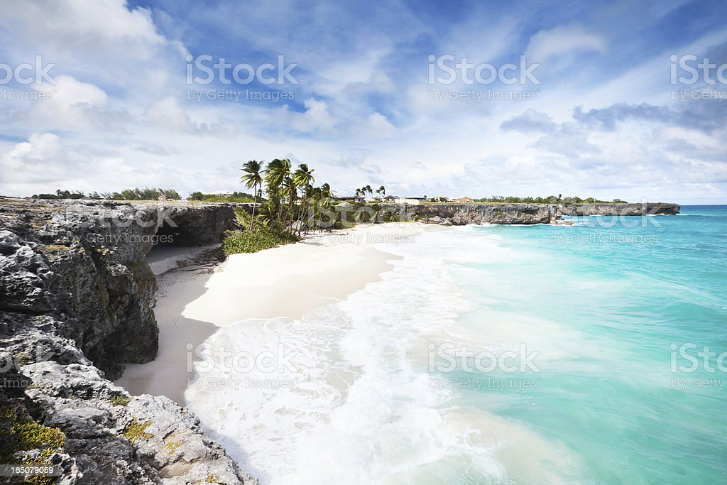 Inferior Bay, Barbados - foto de acervo