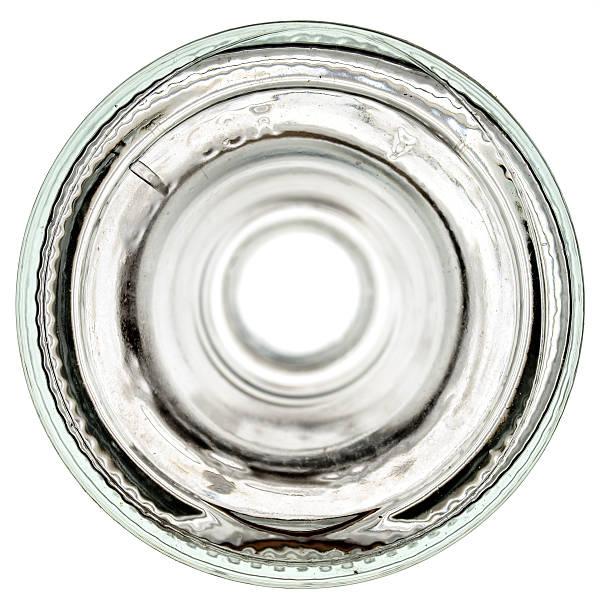 Fond de verre bouteille - Photo