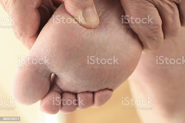 Bottom Of Foot Stock Photo - Download Image Now