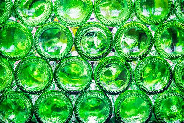 Bas de bouteilles - Photo